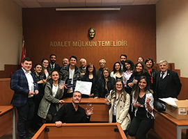 Özyeğin University Wins the Moot Court Cross Examination Competition