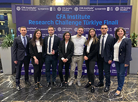 Özyeğin University Wins the CFA IRC Turkey Challenge