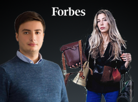"Two OzU Graduates Named to Forbes' ""30 Under 30"" List"