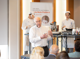 Father of Molecular Gastronomy, Hervé This, Pays a Visit to Turkey as the Guest of Özyeğin University