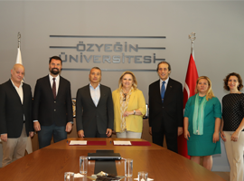 Özyeğin University and TURYİD Sign a Memorandum of Understanding for Management Trainee Internship