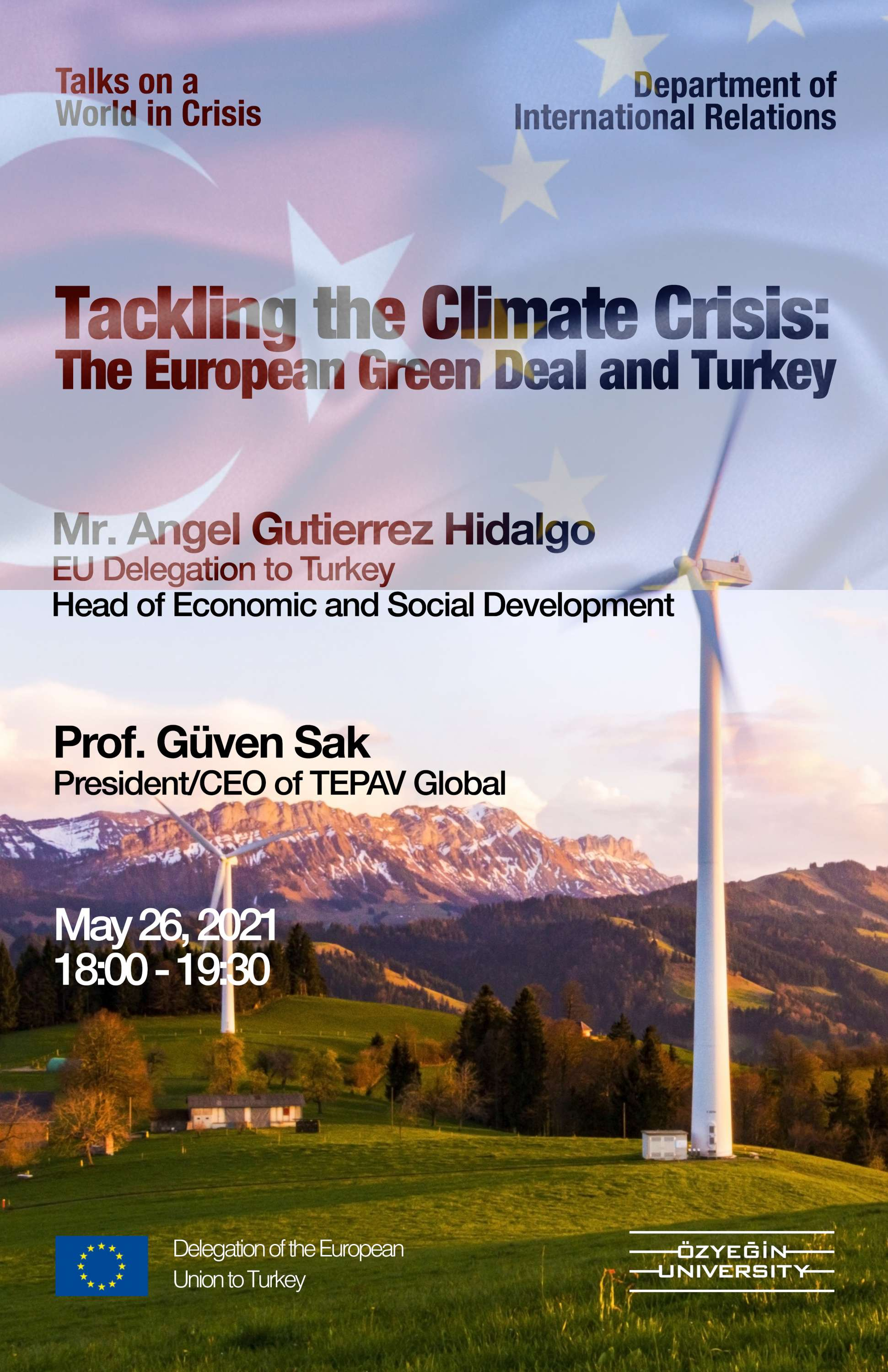 Tackling Climate Crisis: The European Green Deal and Turkey