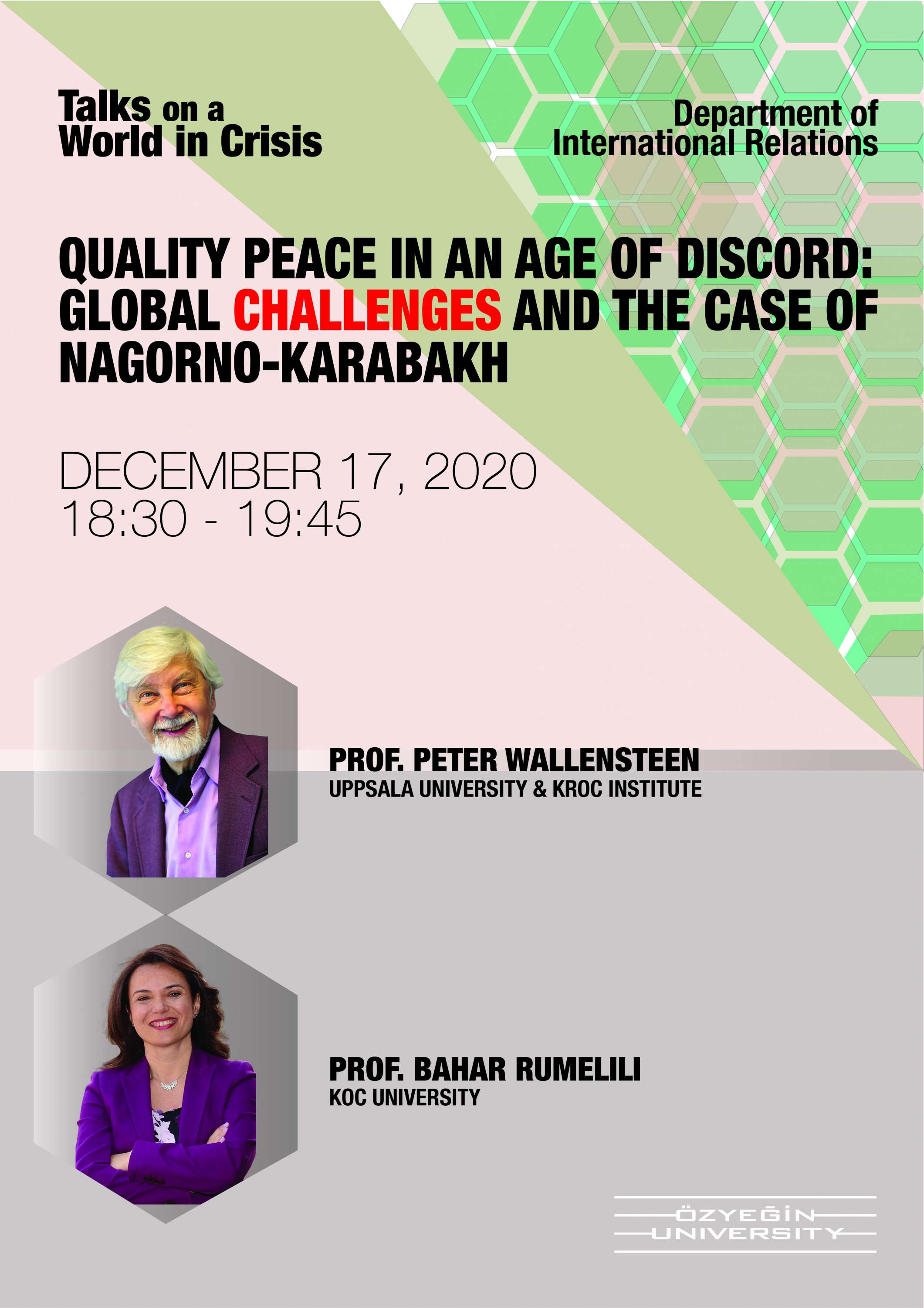 Quality Peace in an Age of Discord